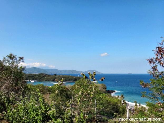 Bias Tugal Beach - Little Beach in Padang Bai, east Bali, Indonesia