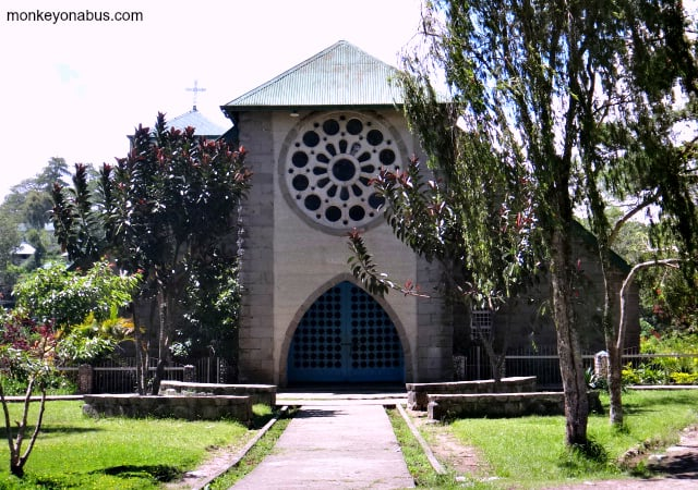 Anglican Church of Saint Mary in Sagada, Philippines