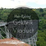 Across the Famous Gokteik Viaduct Aboard the Train to Hsipaw