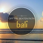 4 Amazing Bali Beaches Off The Beaten Path
