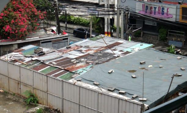 view of Malate in Metro Manila
