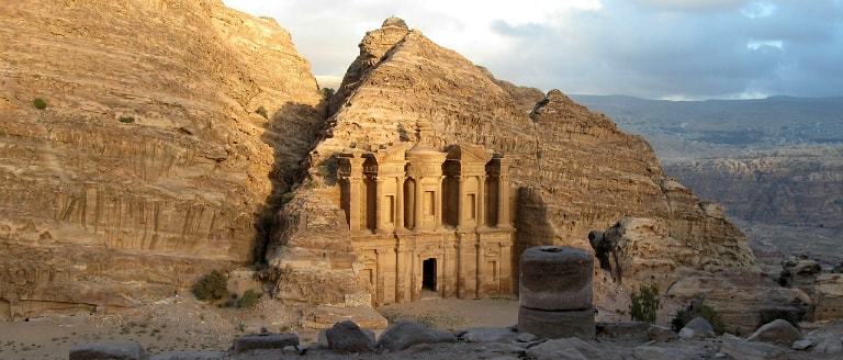 Petra tourist attraction in Jordan