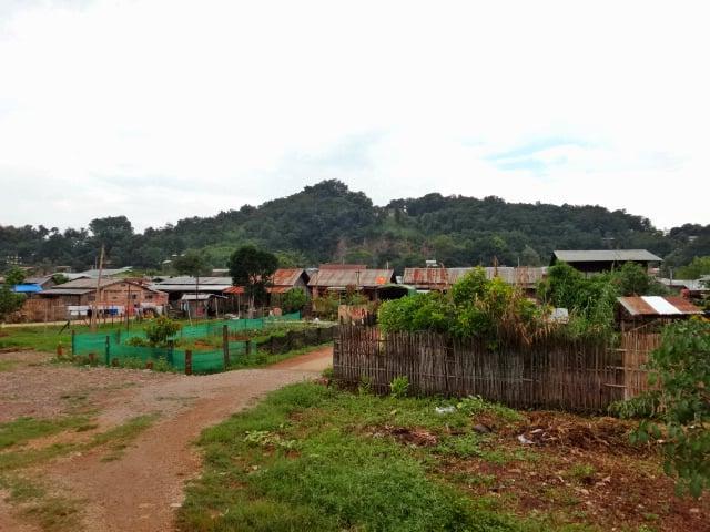 Small Shan village near Pyin Oo Lwin in Myanmar