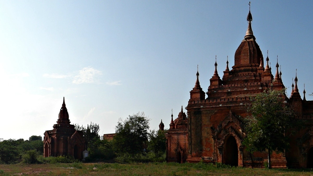 Centuries-old temples of Bagan