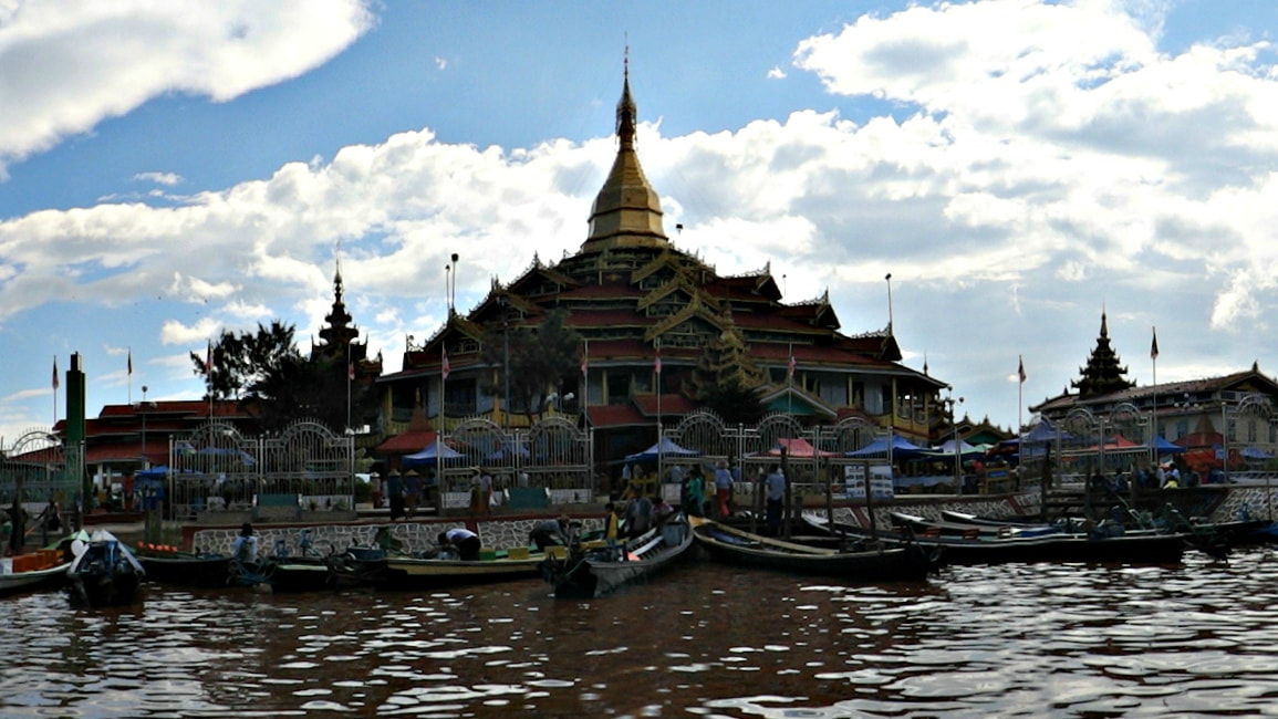 Hpaung Daw U Pagoda of Inle Lake